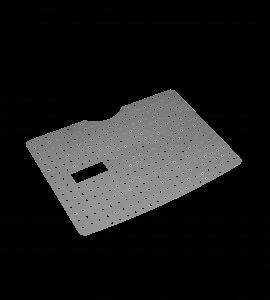 Beskyttende bunn av lagd av perforert metallplate